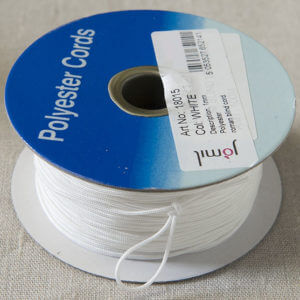 White Polyester Cords