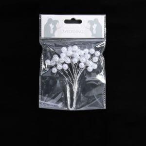 White Wedding Floral Decorative Piece
