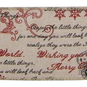 Vintage Christmas Ribbon