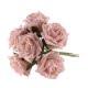 Bundle of Light Pink Foam Roses