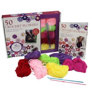Whitecroft Crochet Flower Kits