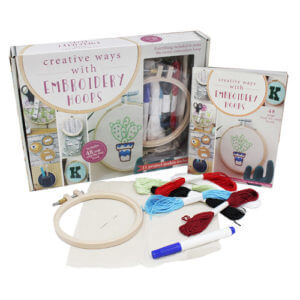 Whitecroft Embroidery Hoop Kits
