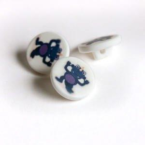 Dark Blue Monster Buttons