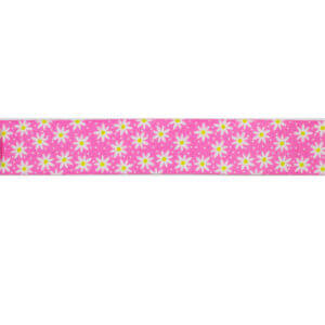 Pink Daisy Chain Ribbon
