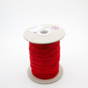 Red polyester elastic cord
