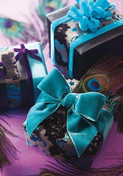 45 Metres Turquoise Blue Fused Edge Ribbon Craft